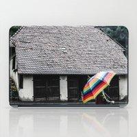 umbrella iPad Cases featuring umbrella by Deviens