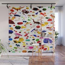 Jumble of Fun Wall Mural