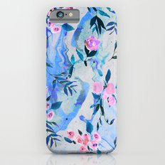Floral Marble Swirl Slim Case iPhone 6s