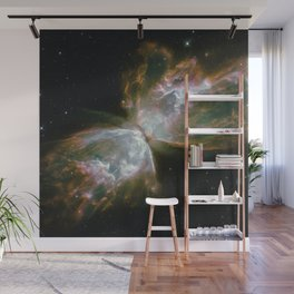 The Butterfly Nebula Wall Mural