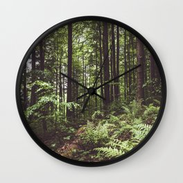 Woodland - Landscape and Nature Photography Wall Clock