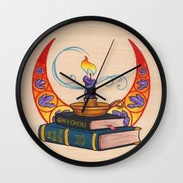 Les Livres Wall Clock