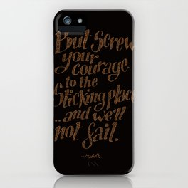 """If we should fail?"" iPhone Case"
