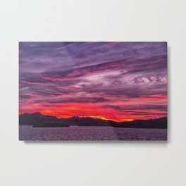 Lake Havasu Sunrise Metal Print