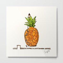 My Pineapple home Metal Print