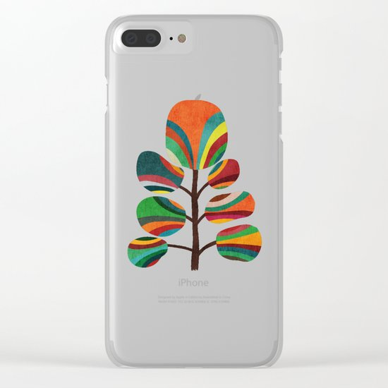 Exotica Clear iPhone Case