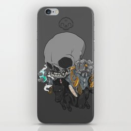 The Four Horsemen of the Apocalypse (Black) iPhone Skin