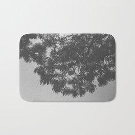 Black & White Trees Bath Mat