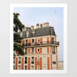 paris house Art Print
