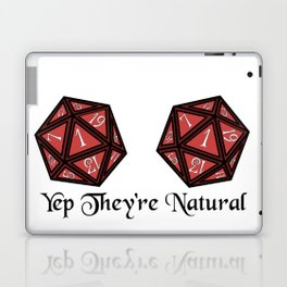 Yep They're Natural 1 Laptop & iPad Skin
