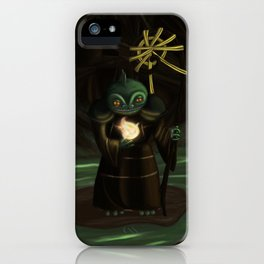 Priest of the Bog iPhone Case
