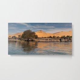 The Western Desert Metal Print