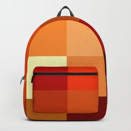 BLOCKS - RED TONES - 1 Backpack