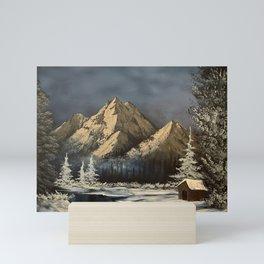 Mountain Seclusion Mini Art Print