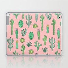 Cactus Pattern Pink Laptop & iPad Skin