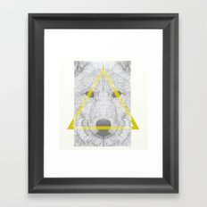 WOLF III Framed Art Print