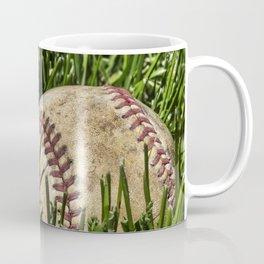 Baseball and Bat on Grass 2 Coffee Mug