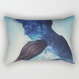 A big hug Rectangular Pillow