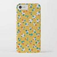 yellow pattern iPhone & iPod Cases featuring Yellow by Alisa Galitsyna