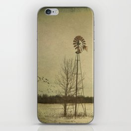 While the wind moans a dirge to a coyote's cry... iPhone Skin