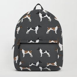 Rat Terrier dog breed decor gifts pure breed dogs Backpack