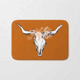 Texas University longhorns football college sports team fan Bath Mat