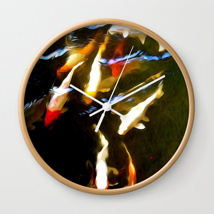 Natureʻs Rhythm Wall Clock