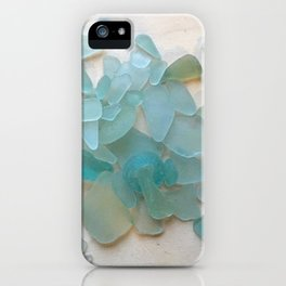 Ocean Hue Sea Glass iPhone Case