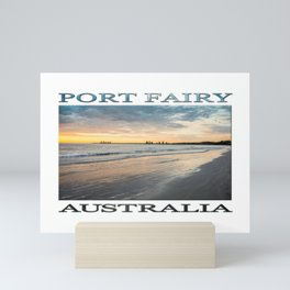 Sunrise at Port Fairy (poster edition) Mini Art Print