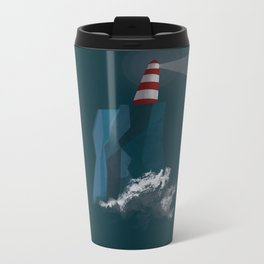 Lighthouse Metal Travel Mug