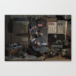 """Ghostbusters - """"Workbench""""  Canvas Print"""