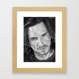 Ralph Fiennes Framed Art Print