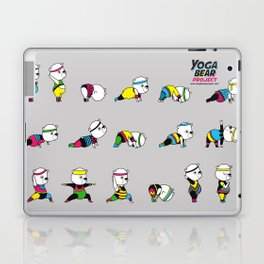 Yoga Bear - 80's Remix Laptop & iPad Skin