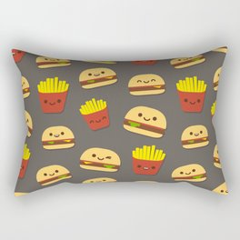 Fastfood pattern Rectangular Pillow