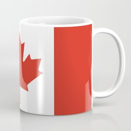 flag of canada 1-canadian,canadien,canadiense,ottawa,toronto,montreal. Coffee Mug