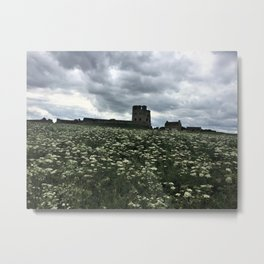 English Castle Metal Print