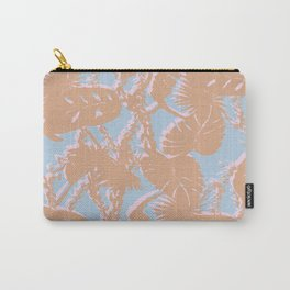 Contrast Palms Carry-All Pouch