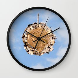 """Worlds in Jerusalem"" - East Jerusalem Neighborhood Wall Clock"