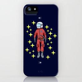 USSR cosmonaut iPhone Case