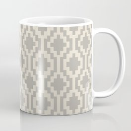 Mapuche Grey/Beige Coffee Mug