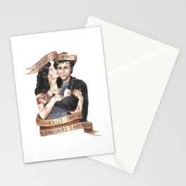 Chaos Is What Killed the Dinosaurs, Darling - Heathers Stationery Cards