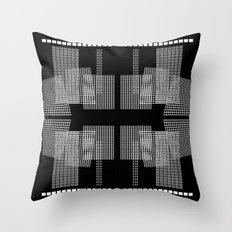 Grid 7 Throw Pillow