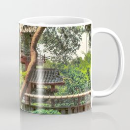Pagoda in Japanese Gardens Coffee Mug