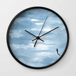 Rise Above Wall Clock