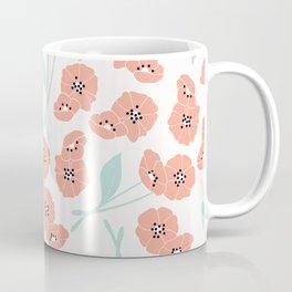 Retro flowers 001 Coffee Mug
