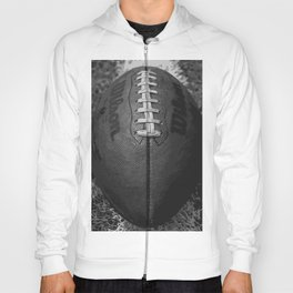Big American Football - black &white Hoody