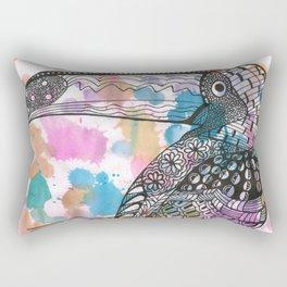 Toucan work Rectangular Pillow