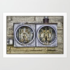 Feeling Wired Art Print
