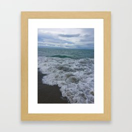 Ocean in Motion - Panama Framed Art Print