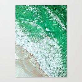 Emerald Sea Canvas Print
